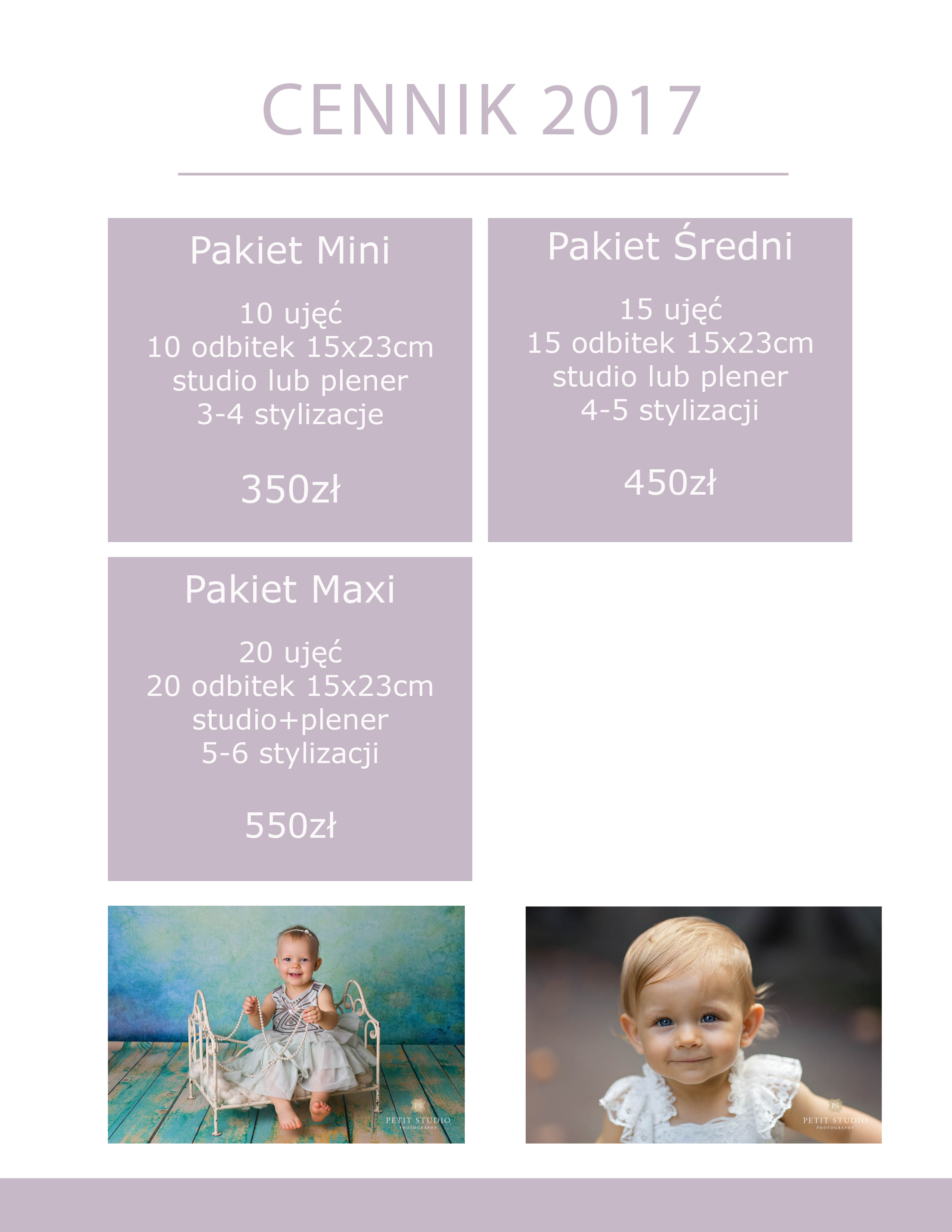 cennik dziecieca